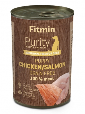 Fitmin Purity Puppy Salmon with chicken 400g