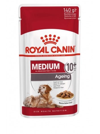 Royal Canin Medium Ageing +10 10x140g