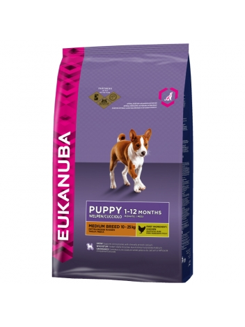 Eukanuba Puppy  Medium Breed - 15kg