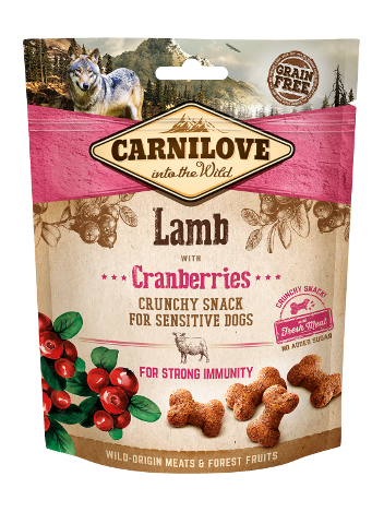 Carnilove Crunchy Snack Lamb & Cranberries - 200g