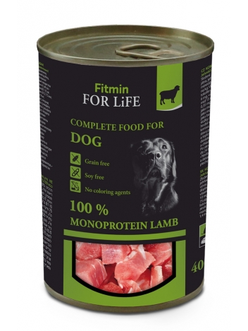 Fitmin For Life Dog Lamb 400g