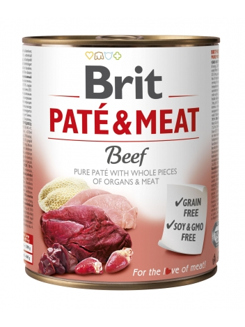 Brit Pate & Meat Beef 800g