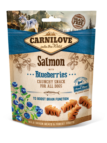 Carnilove Crunchy Snack Salmon & Blueberries - 200g