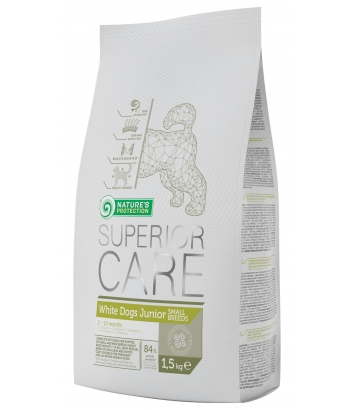 Nature's Protection Superior Care White Junior Small 1,5kg