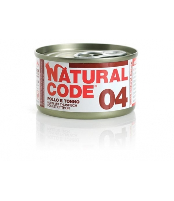 Natural Code Cat 04 Chicken and tuna 85g
