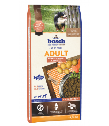 Bosch Adult Salmon & Potato - 15kg
