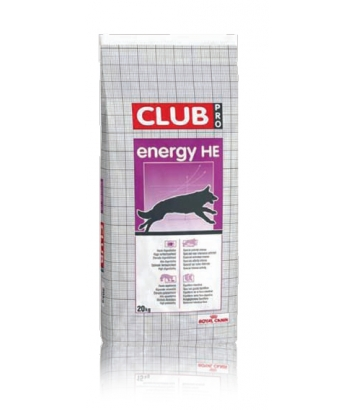 Royal Canin Club Energy HE - 20kg