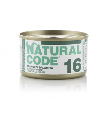 Natural Code Cat 16 Bonito slices 85g