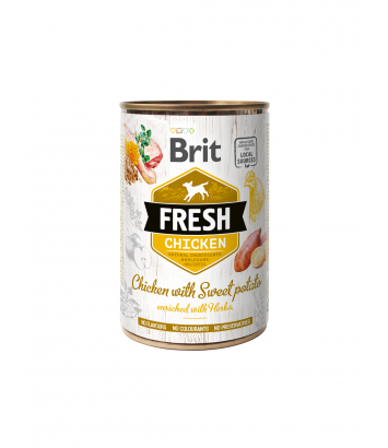 Brit Fresh Chicken with Sweet Potato 400g