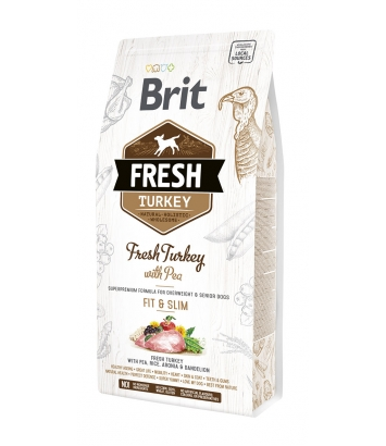 Brit Fresh Fit & Slim Turkey & Pea - 2,5kg