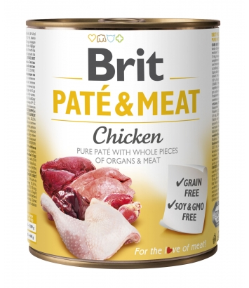 Brit Pate & Meat Chicken 800g