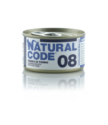 Natural Code Cat 08 Tuna slices 85g