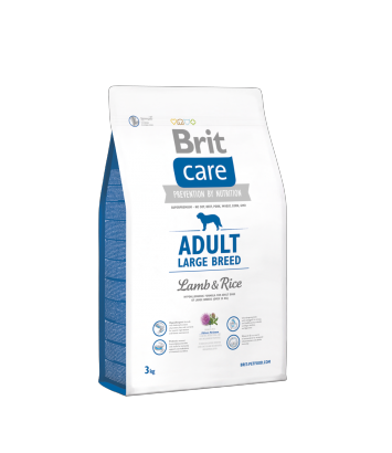 Brit Care Adult Large Breed Lamb & Rice - 3kg