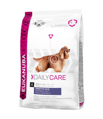 Eukanuba Daily Care - Sensitive Skin - 2,3kg