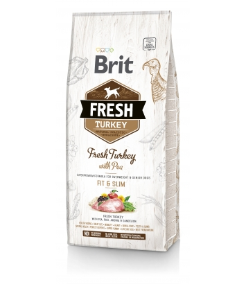 Brit Fresh Fit & Slim Turkey & Pea - 12kg